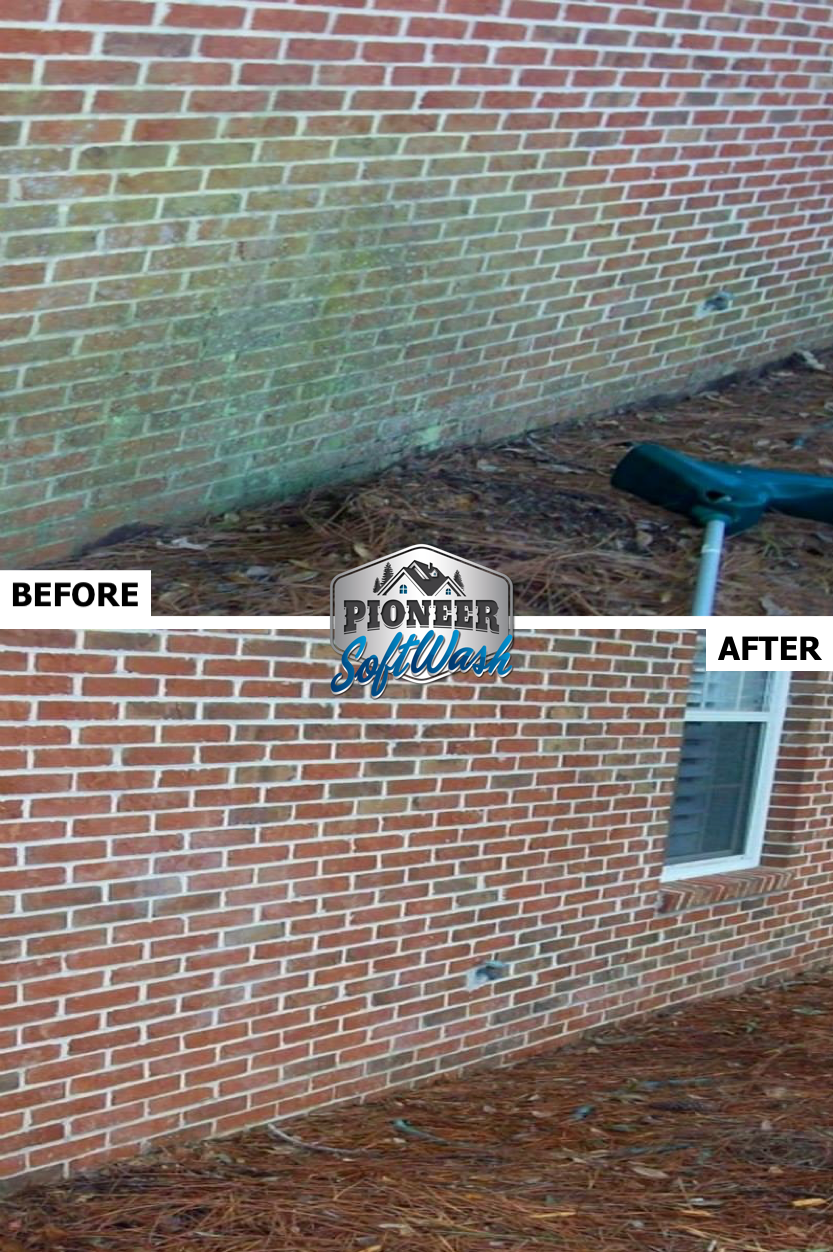 Pioneer Softwash - SAFE Roof & Exterior Cleaning | Green Bay